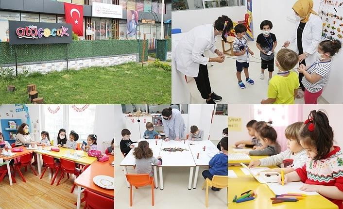 AtaÇocuk'un kapıları sağlık emekçilerinin çocuklarına açıldı