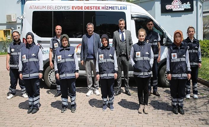 Atakum Belediyesi 'Evde Destek' kayıtları başladı