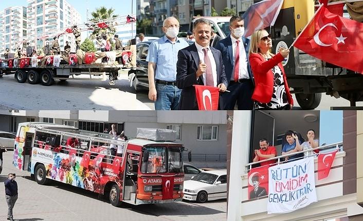 Atakum Belediyesi'nden dolu dolu 19 Mayıs kutlama programı