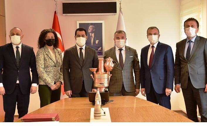 Başkan Özdemir: Spor tesislerimiz Havzamıza hayırlı olsun