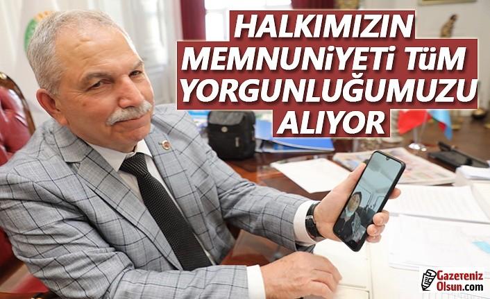 Görüntülü Arama ile Başkan Demirtaş'a Teşekkür Etti