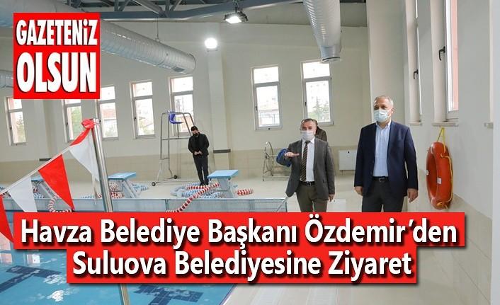 Havza Belediye Başkanı Özdemir'den Suluova Belediyesine Ziyaret
