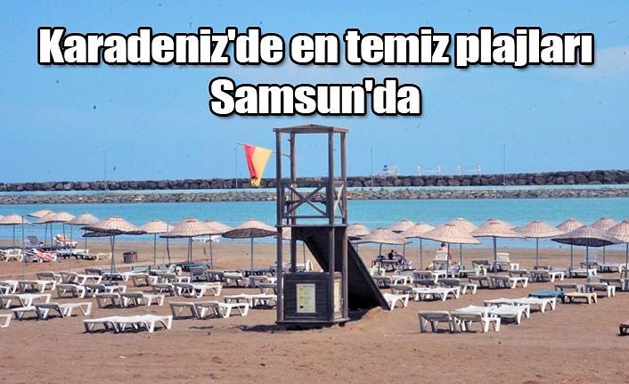 Karadeniz'in en çok mavi bayrağa sahip il Samsun
