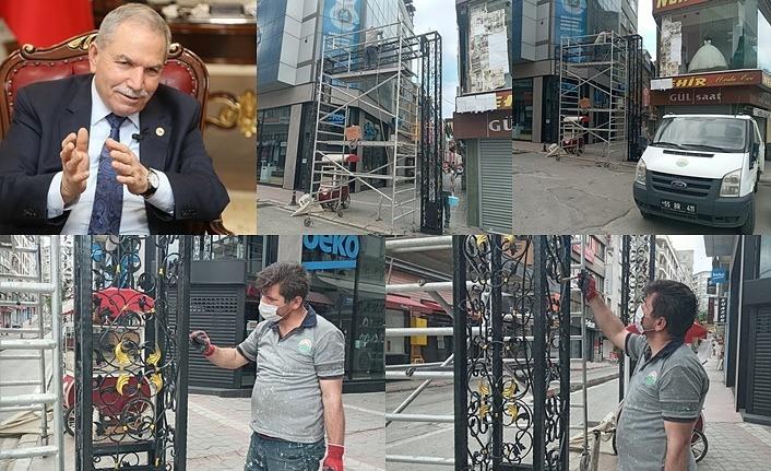 Mecidiye ve Fatih Sultan Mehmet Caddesi'ne estetik rötuş