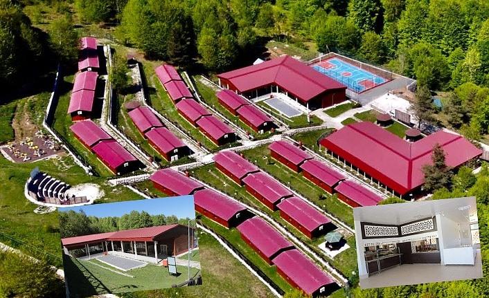 Nebiyan Doğa ve İzcilik Kampı'nda gençlere ücretsiz kamp