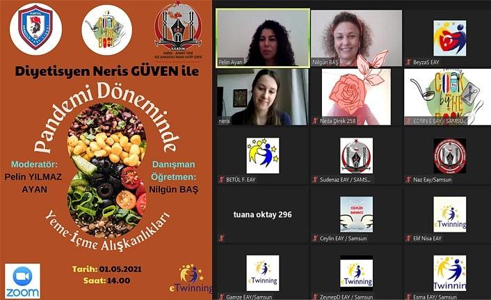 Pandemi Döneminde Yeme İçme Alışkanlıkları webinarı