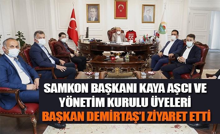 SAMKON'dan Başkan Demirtaş'a ziyaret
