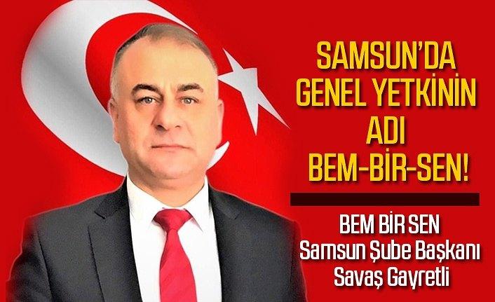 Samsun'da yetki bir kez daha BEM-BİR-SEN'in