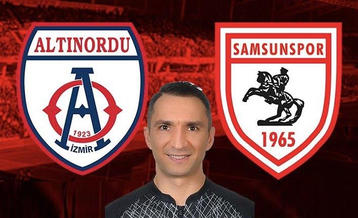 Samsunspor Altınordu maçının hakemi belli oldu