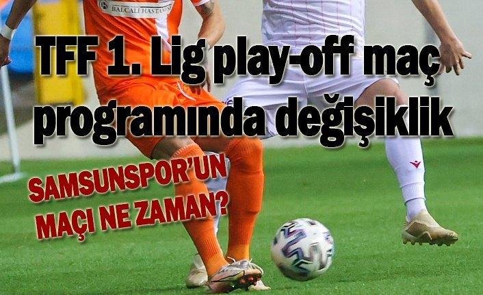 Samsunspor Altınordu maçının tarihi değişti, Samsunspor'un play off maçı ne zaman?