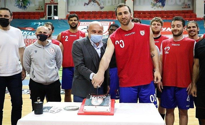 Samsunspor Basketbol Bayramlaştı