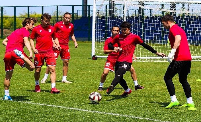 Samsunspor U19 Altay U19 maçı hazırlıklarını tamamladı