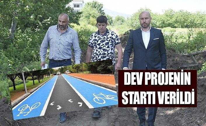 Tekkeköy Belediyesi dev projenin startını verdi