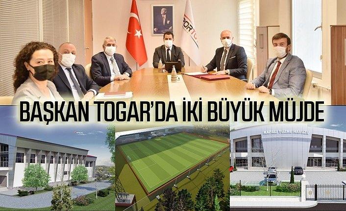 Tekkeköy Belediyesi'nden iki büyük spor yatırımı