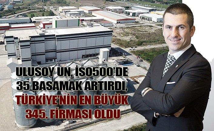 Ulusoy Un Türkiye'nin en büyük 345. firması oldu
