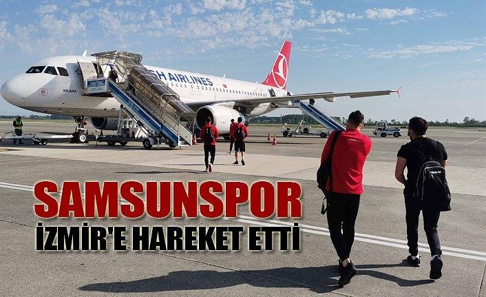 Yılport Samsunspor Altınordu maçı için İzmir'e hareket etti