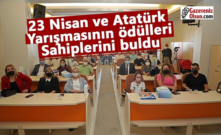 23 Nisan ve Atatürk yarışmasının ödülleri sahiplerini buldu