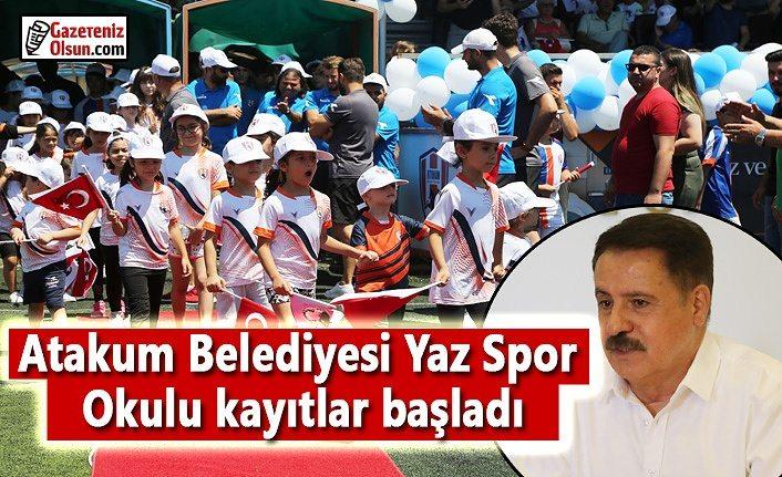 Atakum Belediyesi, Yaz Spor Okulu'na kayıtlar başladı