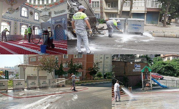 Canik'te Sokağım Evim Kadar Temiz Projesi