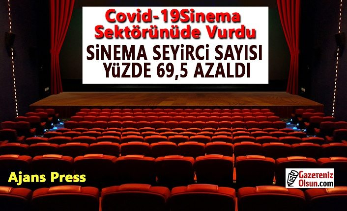 Covid-19 Sinema Sektörünü de Vurdu, Seyirci sayısı azaldı