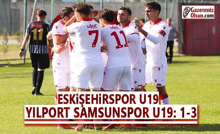 Eskişehirspor U19- Yılport Samsunspor U19 Maç Sonucu 1-3