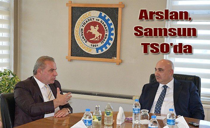 Halkbank Genel Müdürü Osman Arslan Samsun TSO'da