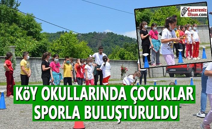 Köy Okullarında Çocuklar Sporla Buluşturuldu