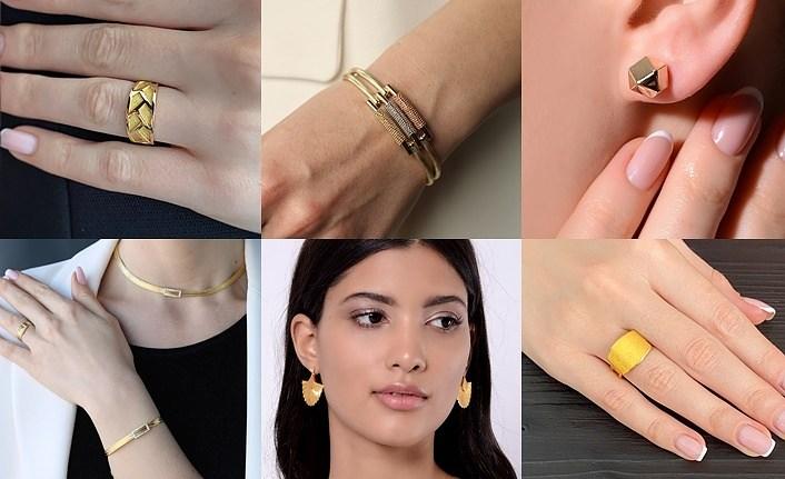 Modern Altın Tasarımlar Toptan Fiyatına ELİZİ kuyumculuk'ta!