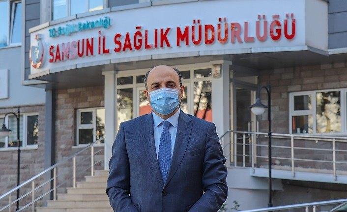 Samsun'da pandeminin seyri ve aşı çalışmalarında son durum açıklandı!