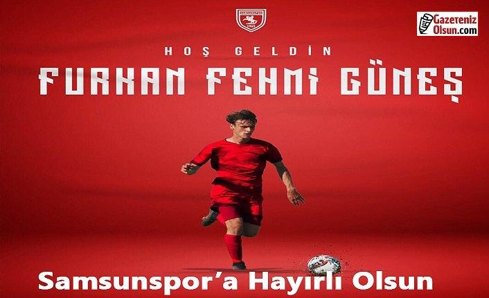 Samsunspor Fehmi Güneş ile anlaşma imzaladı