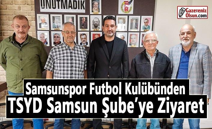 Samsunspor Futbol Kulübünden TSYD'ye Hayırlı Olsun Ziyareti