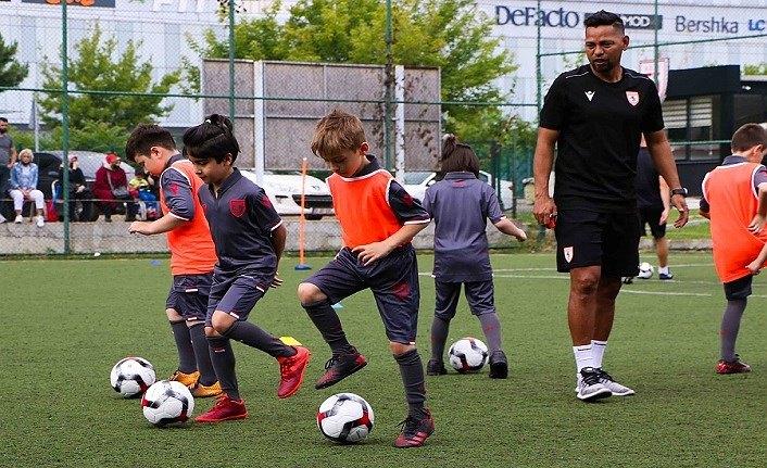 Samsunspor Futbol Okulu antrenmanları başladı