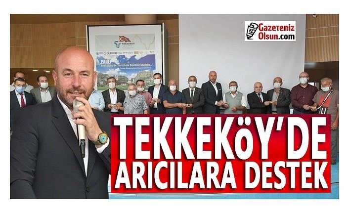Tekkeköy'de Arıcılara Destek