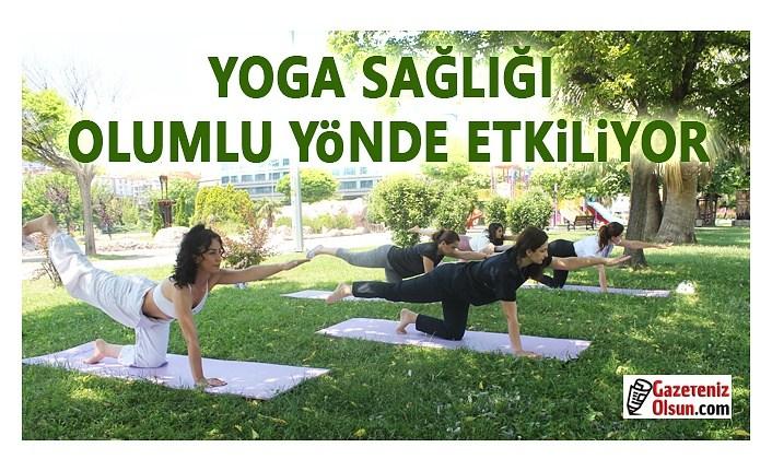 Yoga Sağlığı olumlu yönde etkiliyor