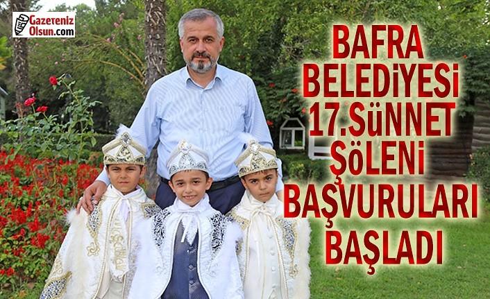 Bafra Belediyesi 17. Sünnet Şöleni Başvuruları Başladı