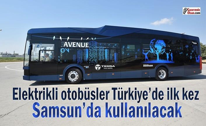 Bakan Varank, Elektrikli Otobüs' için Samsun'a geliyor