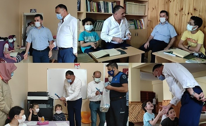 Başkan Akgül Kur'an Kurslarını Ziyaret etti