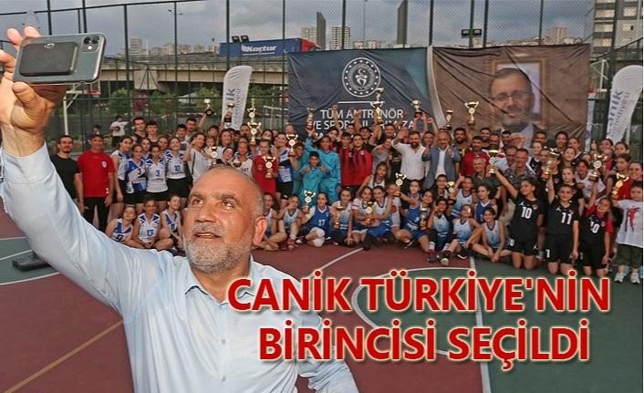 Başkan Sandıkçı: Türkiye'nin Sporda Birincisi Canik Oldu