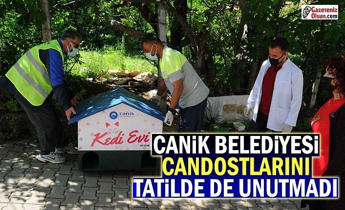 Canik Belediyesi Candostlarını hiç unutmuyor