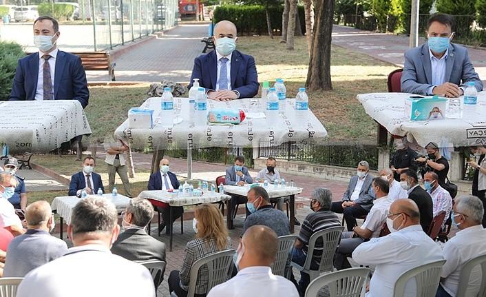 Hedef 'Mavi Atakum' Başkan Deveci'den tam destek