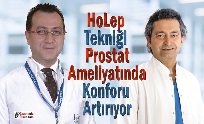HoLep tekniği prostat ameliyatında konforu artırıyor