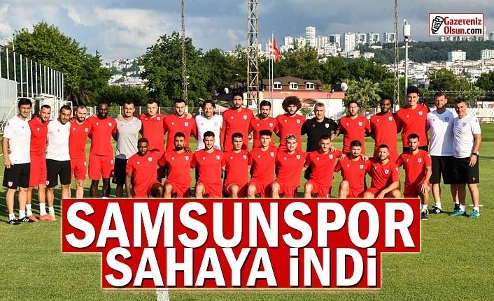 Samsunspor 2021-2022 sezon hazırlıklarına başladı