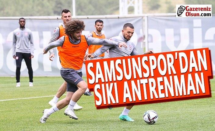 Samsunspor'un yeni sezon hazırlıkları devam ediyor