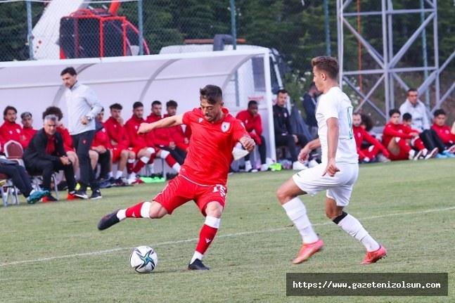Samsunspor Bursaspor ile hazırlık maçı yaptı