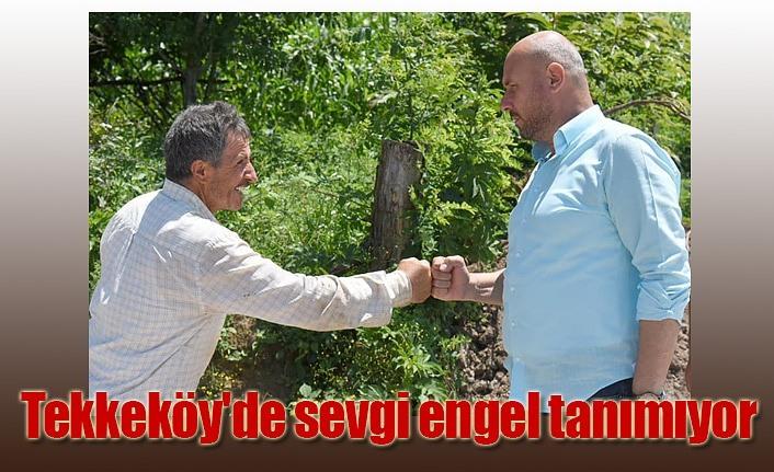 Tekkeköy Belediyesi 'Aşkınan Çalışıyor'