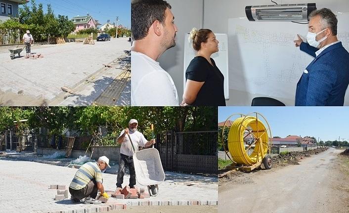 19 Mayıs İlçesinde altyapı çalışmaları dört koldan devam ediyor