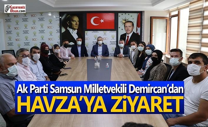 Ak Parti Samsun Milletvekili Demircan'dan Havza'ya ziyaret