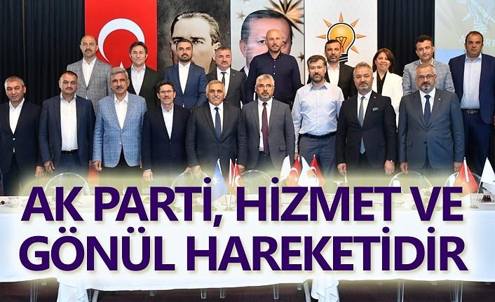 AK Parti Yerel Yönetimler İstişare Toplantısı Samsun'da yapıldı