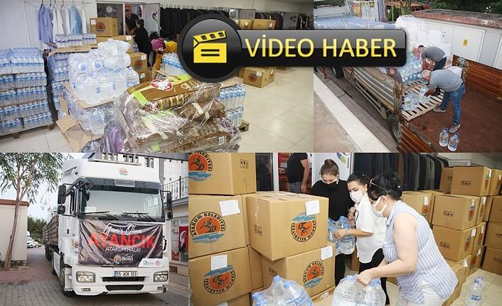 Atakum Belediyesi Ayancık'a yeni dayanışma TIR'ı - Atakum Haber