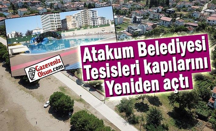 Atakum Belediyesi tesisleri kapılarını yeniden açtı